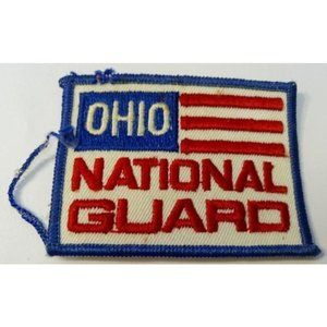 US Army Patch Ohio National Guard Vintage